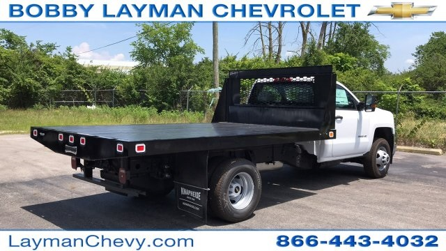 2018 Silverado 3500 Regular Cab DRW 4x2,  Knapheide Platform Body #JF246794 - photo 6