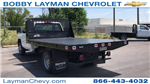 2018 Silverado 3500 Regular Cab DRW 4x2,  Knapheide Platform Body #JF246794 - photo 1