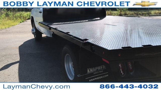 2018 Silverado 3500 Regular Cab DRW 4x2,  Knapheide Platform Body #JF247662 - photo 10