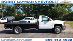 2018 Silverado 3500 Regular Cab DRW 4x2,  Knapheide Platform Body #JF247662 - photo 1