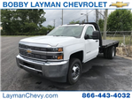 2018 Silverado 3500 Regular Cab DRW 4x2,  Knapheide Platform Body #JF247953 - photo 1