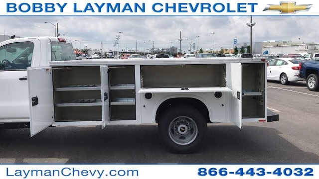 2018 Silverado 3500 Regular Cab DRW 4x2,  Service Body #JF248264 - photo 11