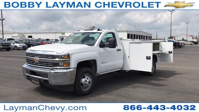 2018 Silverado 3500 Regular Cab DRW 4x2,  Service Body #JF248264 - photo 24