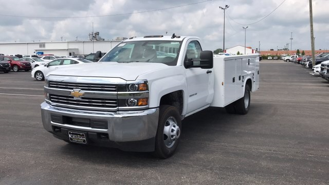 2018 Silverado 3500 Regular Cab DRW 4x2,  Service Body #JF248264 - photo 3