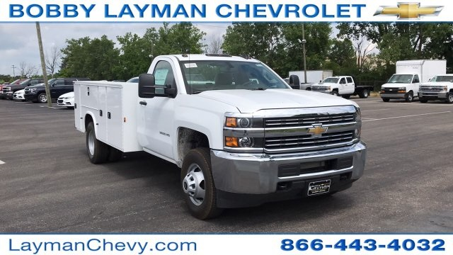 2018 Silverado 3500 Regular Cab DRW 4x2,  Service Body #JF248264 - photo 5
