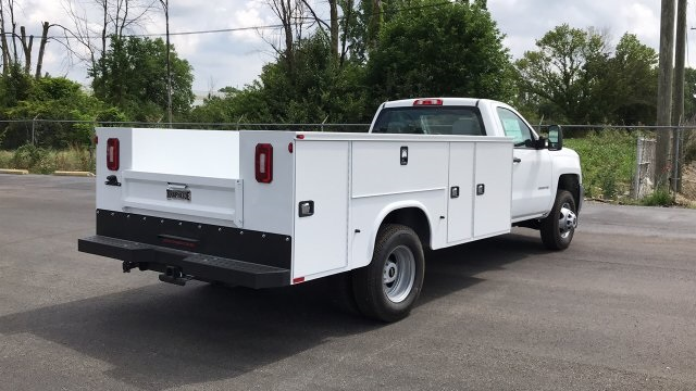 2018 Silverado 3500 Regular Cab DRW 4x2,  Service Body #JF248264 - photo 6