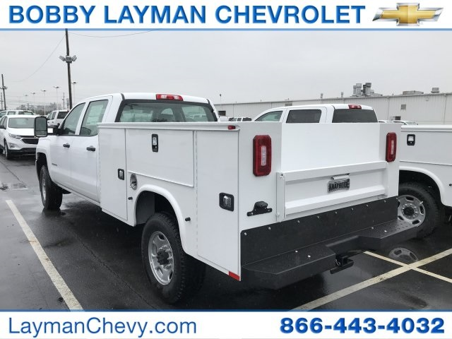 2018 Silverado 2500 Crew Cab 4x4, Service Body #JF258529 - photo 2