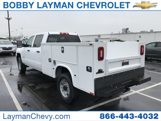 2018 Silverado 2500 Crew Cab 4x4, Service Body #JF259509 - photo 2