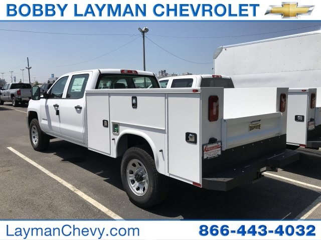 2018 Silverado 3500 Crew Cab DRW 4x4,  Service Body #JF265469 - photo 2