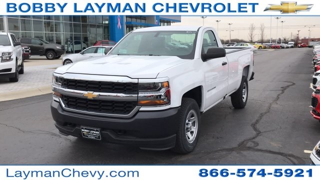 2018 Silverado 1500 Regular Cab 4x4,  Pickup #JZ119142 - photo 3