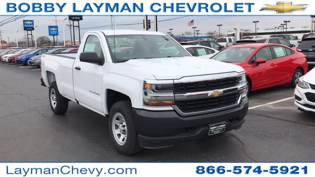 2018 Silverado 1500 Regular Cab 4x4,  Pickup #JZ119142 - photo 5