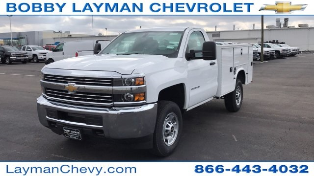 2018 Silverado 2500 Regular Cab 4x4, Knapheide Service Body #JZ127244 - photo 5