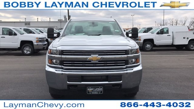 2018 Silverado 2500 Regular Cab 4x4, Knapheide Service Body #JZ127244 - photo 3