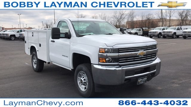 2018 Silverado 2500 Regular Cab 4x4, Knapheide Service Body #JZ127244 - photo 4