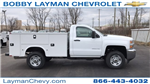 2018 Silverado 2500 Regular Cab 4x4, Knapheide Service Body #JZ127244 - photo 1