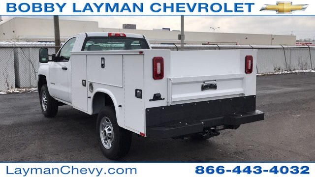 2018 Silverado 2500 Regular Cab 4x4, Knapheide Service Body #JZ129159 - photo 2