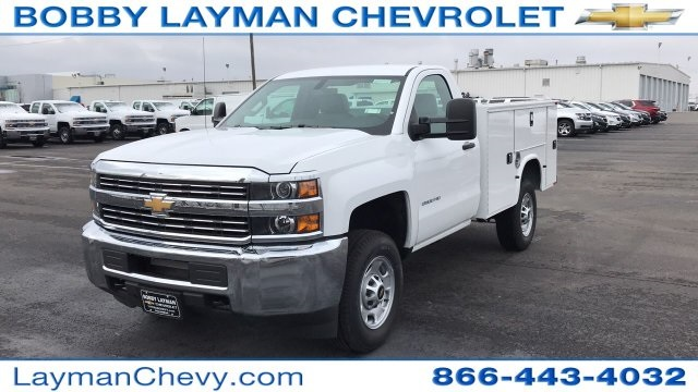 2018 Silverado 2500 Regular Cab 4x4, Knapheide Service Body #JZ129159 - photo 3