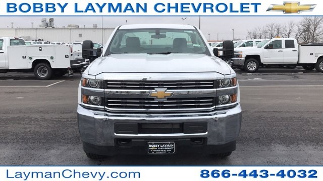 2018 Silverado 2500 Regular Cab 4x4, Knapheide Service Body #JZ129159 - photo 4