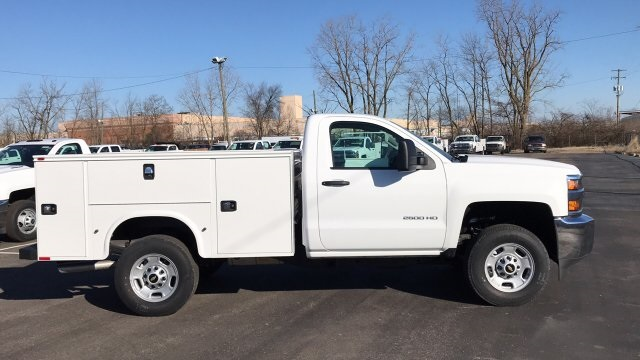 2018 Silverado 2500 Regular Cab 4x4, Knapheide Standard Service Body #JZ129817 - photo 1
