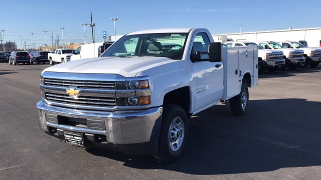 2018 Silverado 2500 Regular Cab 4x4, Service Body #JZ129817 - photo 3
