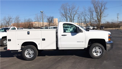 2018 Silverado 2500 Regular Cab 4x4, Service Body #JZ129817 - photo 1