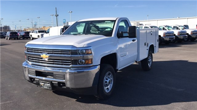 2018 Silverado 2500 Regular Cab 4x4, Knapheide Standard Service Body #JZ129817 - photo 3