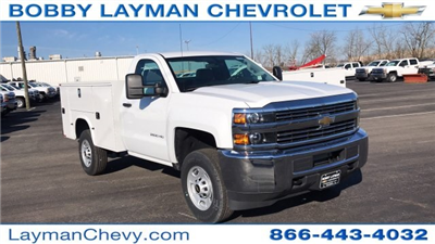 2018 Silverado 2500 Regular Cab 4x4, Knapheide Standard Service Body #JZ129817 - photo 5