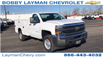 2018 Silverado 2500 Regular Cab 4x4, Service Body #JZ129817 - photo 5