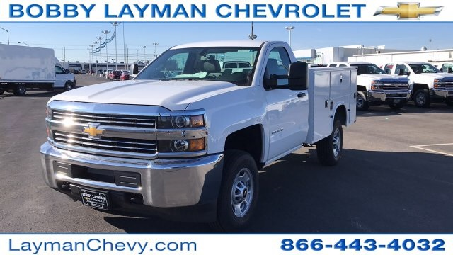 2018 Silverado 2500 Regular Cab, Knapheide Service Body #JZ132377 - photo 4