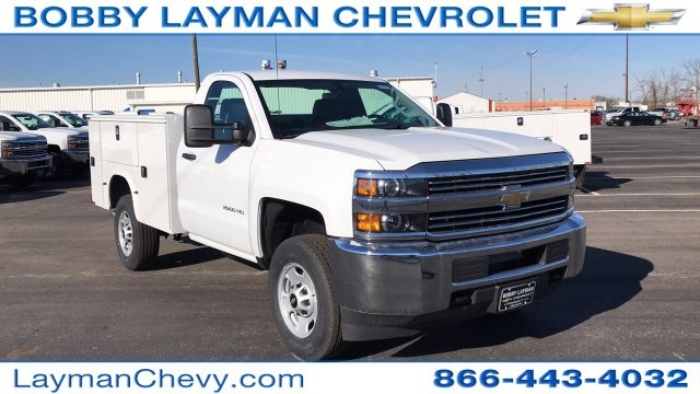 2018 Silverado 2500 Regular Cab, Knapheide Service Body #JZ132377 - photo 6