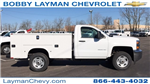 2018 Silverado 2500 Regular Cab, Knapheide Service Body #JZ132377 - photo 1