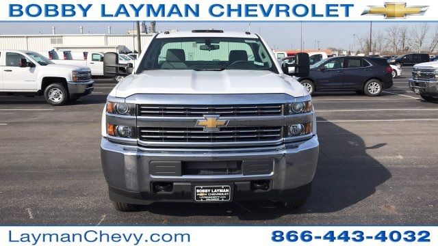 2018 Silverado 3500 Regular Cab DRW 4x4, Knapheide Service Body #JZ152487 - photo 4