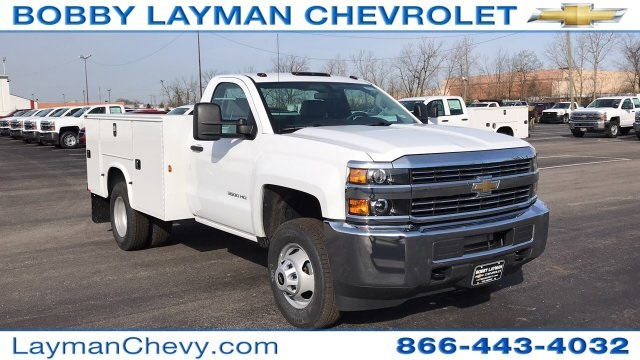 2018 Silverado 3500 Regular Cab DRW 4x4, Knapheide Service Body #JZ152487 - photo 5