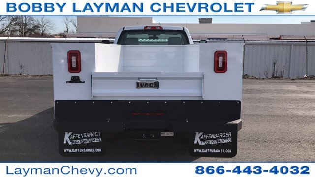 2018 Silverado 3500 Regular Cab DRW 4x4, Knapheide Standard Service Body #JZ152487 - photo 7