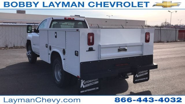 2018 Silverado 3500 Regular Cab DRW 4x4, Knapheide Service Body #JZ152487 - photo 2