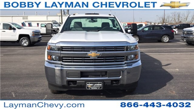 2018 Silverado 3500 Regular Cab DRW 4x4, Knapheide Standard Service Body #JZ152487 - photo 4