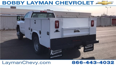 2018 Silverado 3500 Regular Cab DRW 4x4, Knapheide Standard Service Body #JZ152487 - photo 2