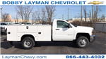 2018 Silverado 3500 Regular Cab DRW 4x4, Knapheide Standard Service Body #JZ152487 - photo 1