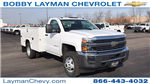 2018 Silverado 3500 Regular Cab DRW 4x4, Knapheide Standard Service Body #JZ152487 - photo 5