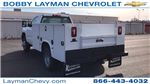 2018 Silverado 3500 Regular Cab DRW 4x4, Knapheide Service Body #JZ152487 - photo 1