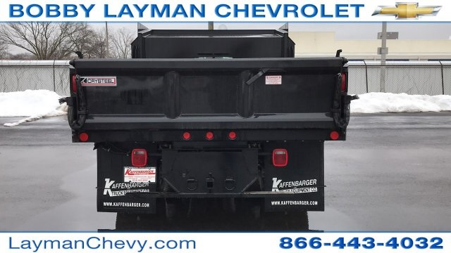 2018 Silverado 3500 Regular Cab DRW 4x4, Crysteel Dump Body #JZ155666 - photo 7