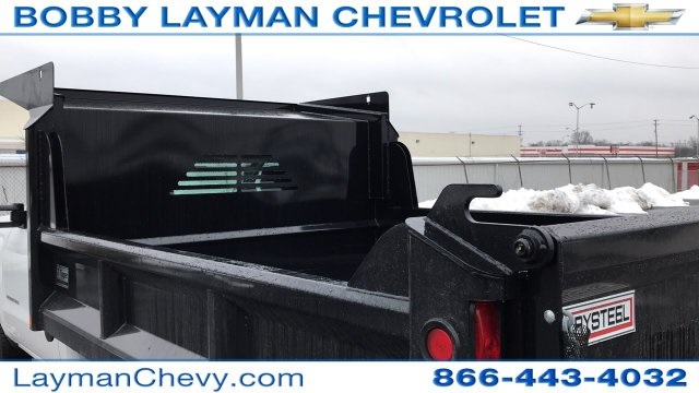 2018 Silverado 3500 Regular Cab DRW 4x4, Crysteel Dump Body #JZ155666 - photo 9