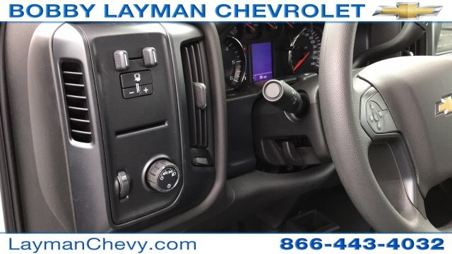 2018 Silverado 3500 Regular Cab DRW 4x4, Crysteel Dump Body #JZ155666 - photo 19