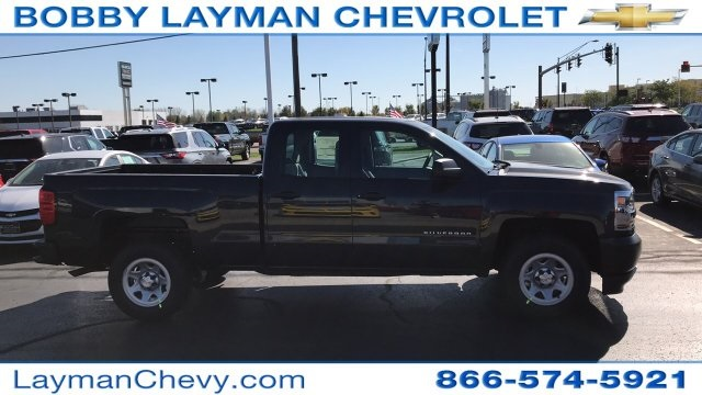 2018 Silverado 1500 Double Cab, Pickup #JZ159685 - photo 1