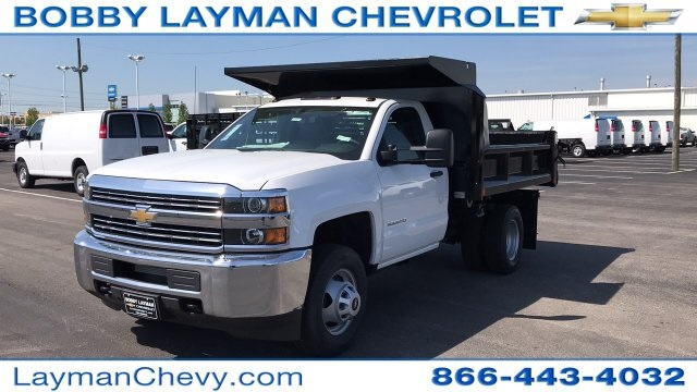 2018 Silverado 3500 Regular Cab DRW, Dump Body #JZ187383 - photo 3