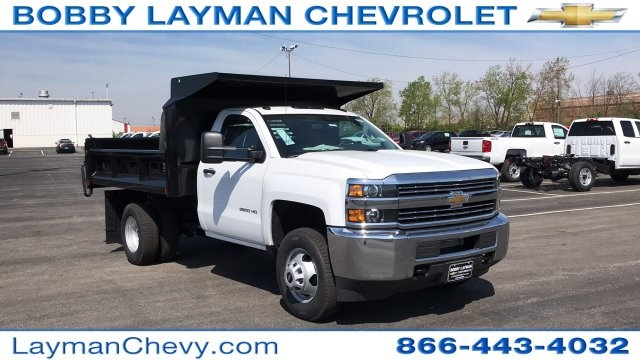2018 Silverado 3500 Regular Cab DRW, Dump Body #JZ187383 - photo 5