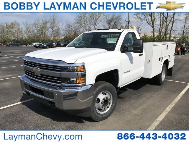 2018 Silverado 3500 Regular Cab DRW, Service Body #JZ188282 - photo 3