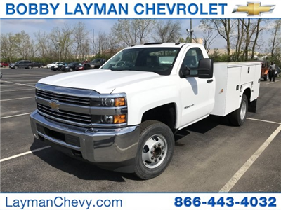 2018 Silverado 3500 Regular Cab DRW, Knapheide Standard Service Body #JZ188282 - photo 3