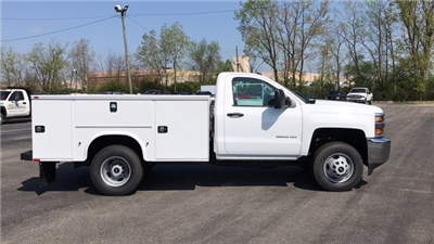 2018 Silverado 3500 Regular Cab DRW, Knapheide Standard Service Body #JZ188282 - photo 1