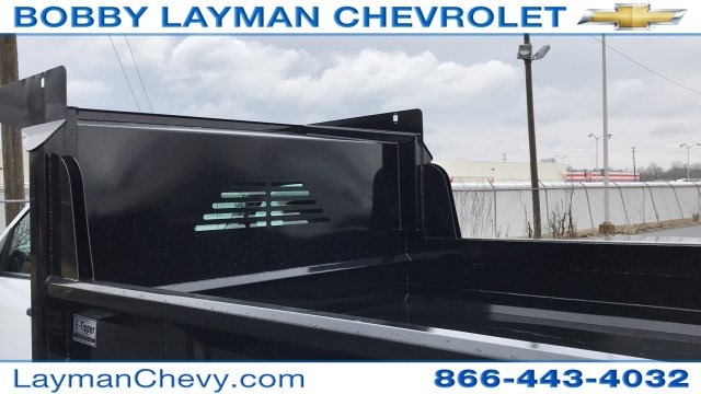 2018 Silverado 3500 Regular Cab DRW 4x4, Crysteel Dump Body #JZ252391 - photo 10